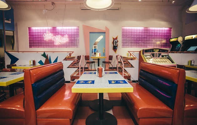 Everything You Need to Know About the 'Saved by the Bell' Diner in Chicago