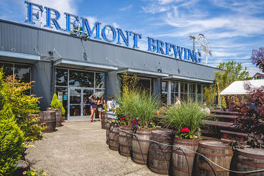 Fremont Brewing exterior