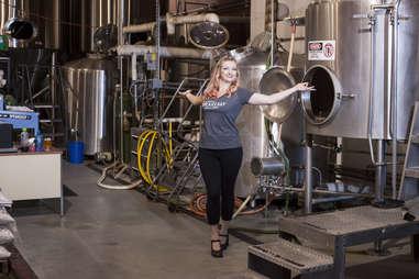 Cat Wiest, Seabright Brewery Brewer