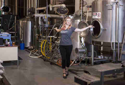Cat Wiest, Seabright Brewery Brewer