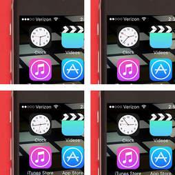 clock app on iphone 6s