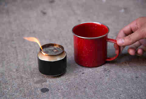 Beer Can Mini Stove