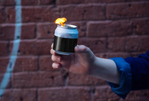 Beer can torch