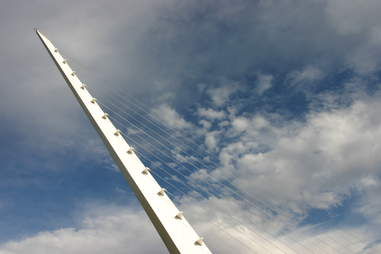 Sundial bridge redding california