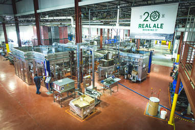 Real ale brewery