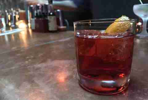Negroni at La Moule