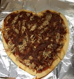 Coletta's bbq pizza