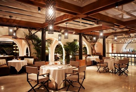 Wolfgang Puck at Hotel Bel-Air dining room