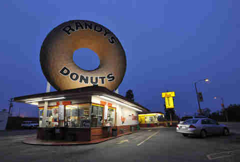 Randy's Donuts, Los Angeles CA