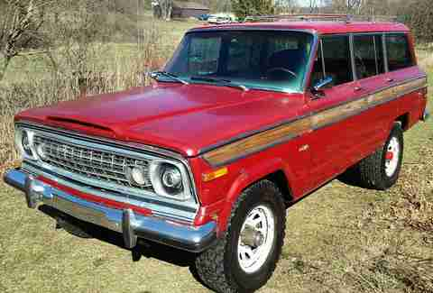1977 Jeep Wagoneer Custom For Sale