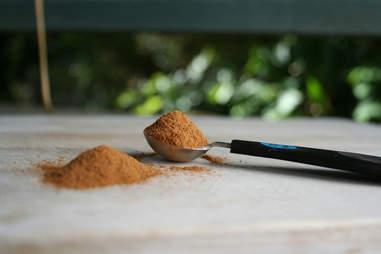 powdered cinnamon