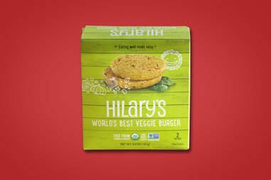 Hilary's World's Best Veggie Burger