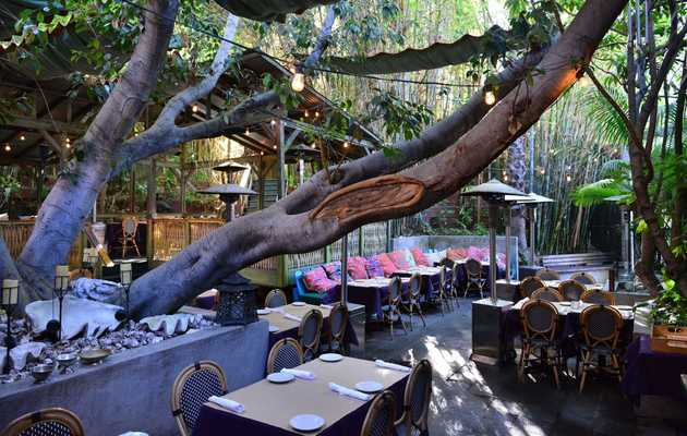 LA's Best Places to Eat Outdoors