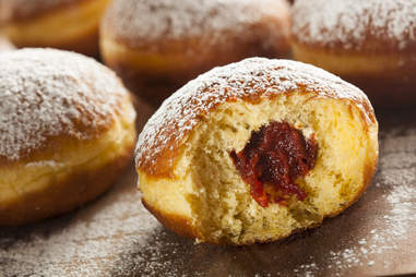 Polish jelly donut