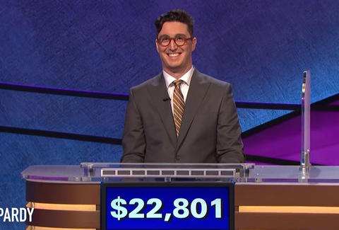Buzzy Cohen on Jeopardy!