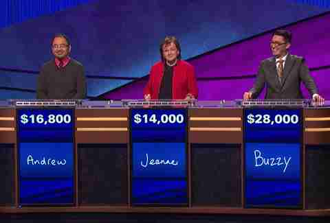 Buzzy Cohen wins first Jeopardy game