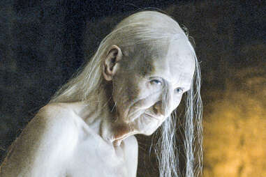 Carice van Houten as Melisandre the Red Woman in her older true form