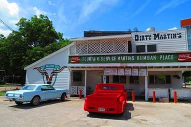 Exterior of Dirty Martin's
