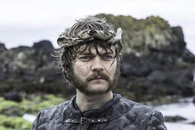 Pilou Asbaeck as Euron Greyjoy, new king of the Iron Islands at the Kingsmoot