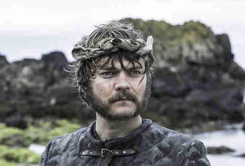 Pilou Asbaeck as Euron Greyjoy, new king of the Iron Islands at the Kingsmoot