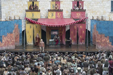 The mummer's show at Braavos that Arya attends