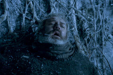 Kristian Nairn during the death of Hodor