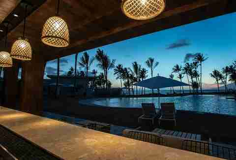 The bar at Andaz Maui at Wailea Resort