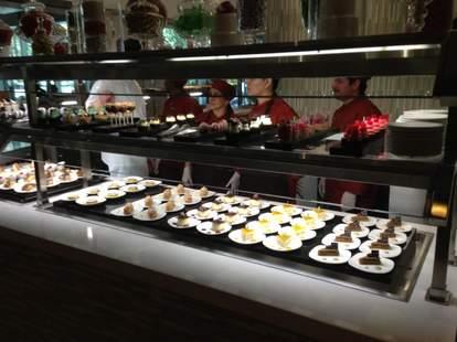 buffet at Aria