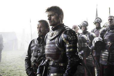 Jerome Flynn joins as Bronn while Nikolaj Coster-Waldau dons Lannister armor again as Jaime Lannister lays siege to Riverrun