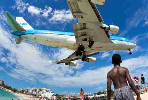Caribbean airplane
