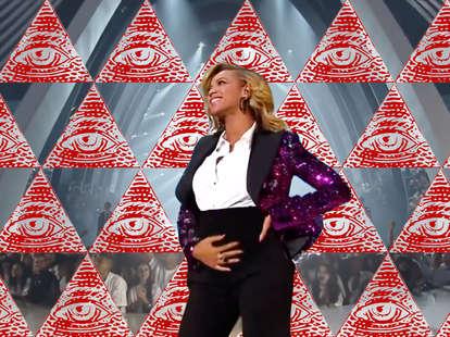 beyonce pregnant illuminati conspiracy
