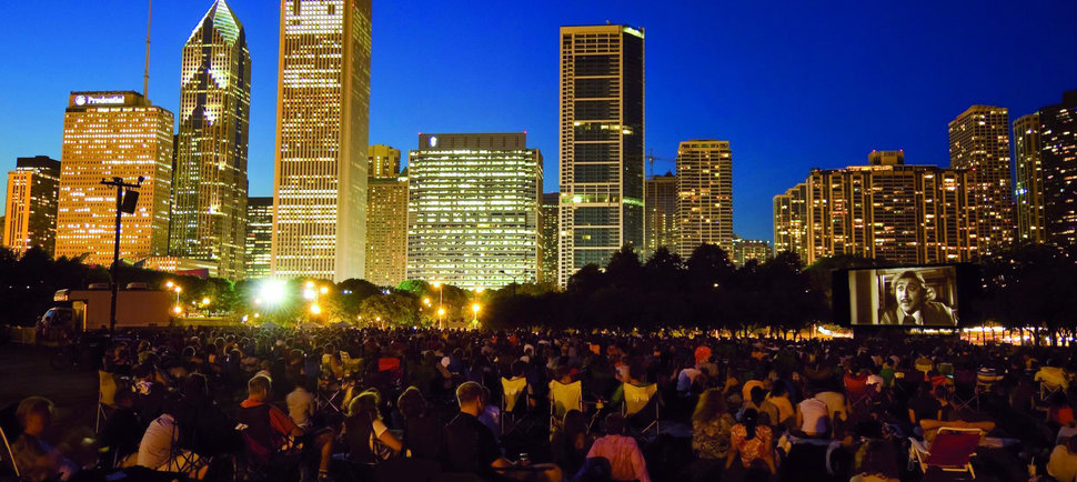 Every Outdoor Movie Screening in Chicago This Summer