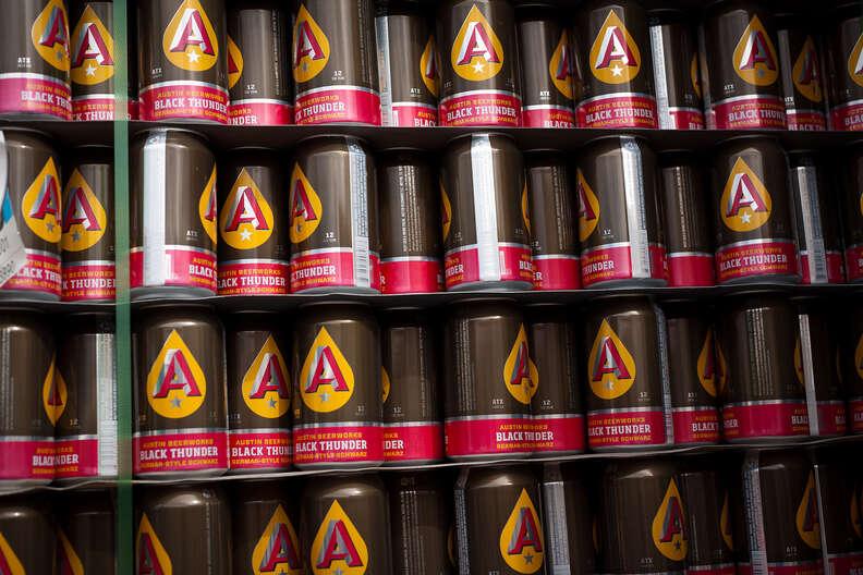 Austin Beerworks cans