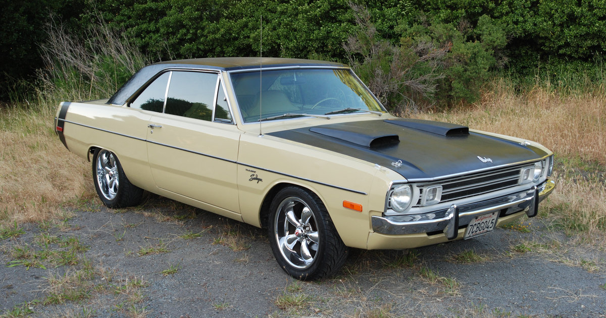 Cheap Muscle Cars for Sale: 1972 Dodge Dart Swinger at Auctions ...