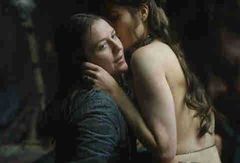 yara with prostitute on game of thrones