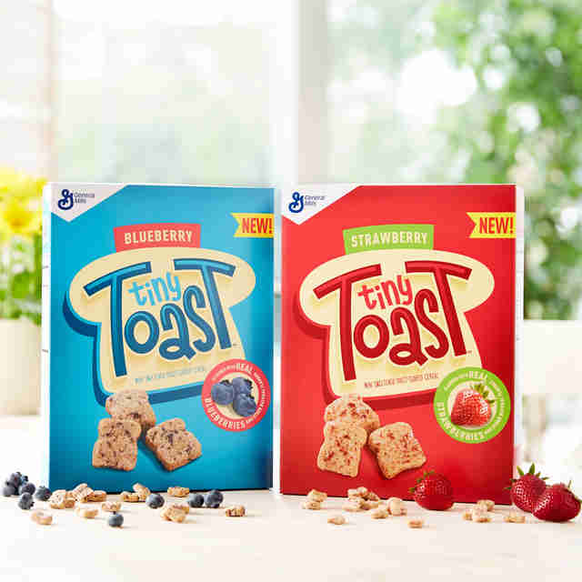 Tiny Toast cereal
