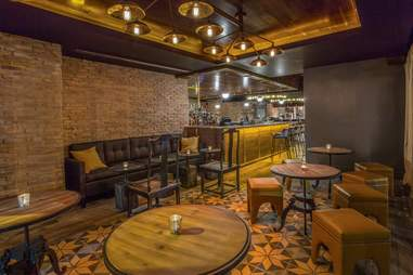 The bar at Beaker & Gray