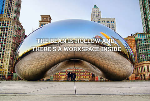 Chicago Bean Cloud Gate