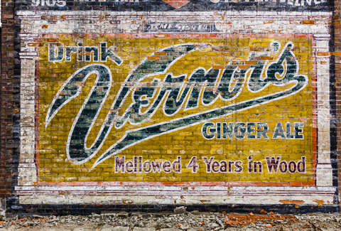 Vernors building mural