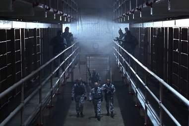 the rock - alcatraz prison