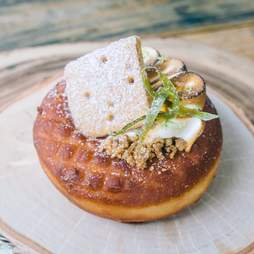 Key lime pie donut at The Salty Donut
