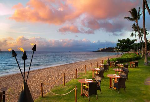 Beachfront at the Maui Westin