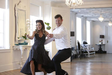 bachelorette date swing dancing