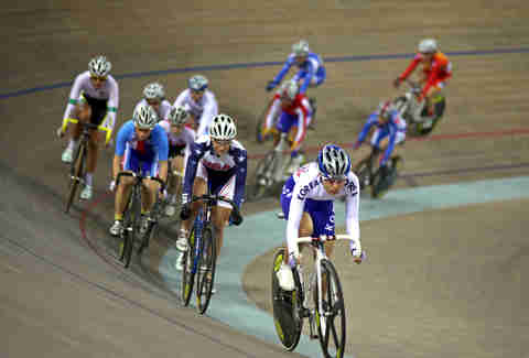 Velodrome Bike Racing