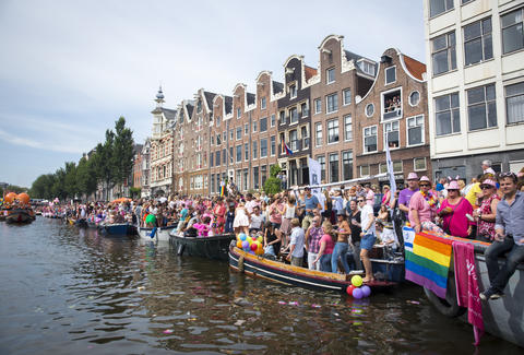 Amsterdam marriage equality