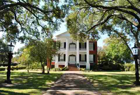 Rosalie Mansion Natchez Mississippi