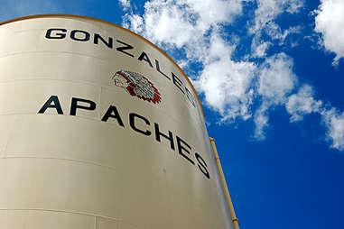 Gonzales texas water tower