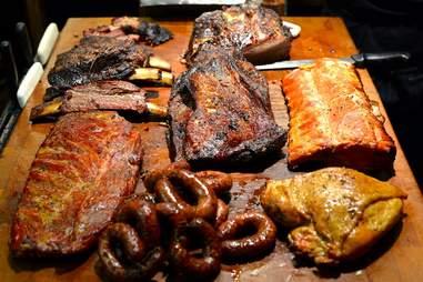 BBQ meats Lockhart Texas Black's