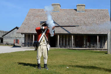 Fort Mackinac Michigan