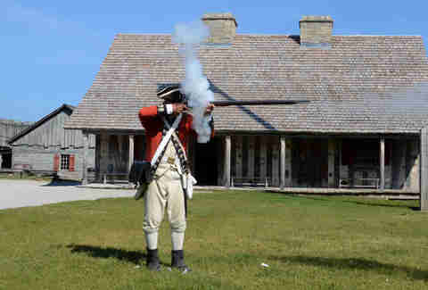 Fort Mackinac Michigan